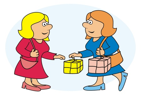 narrate: women and shopping