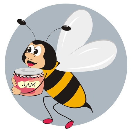 crawly: bee and jam