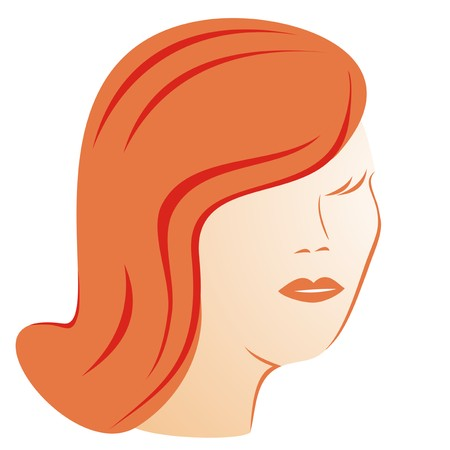 damsel: lady - beauty Illustration