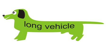dachshund - long vehicle Vector