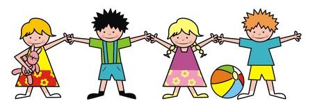suspenders: children Illustration