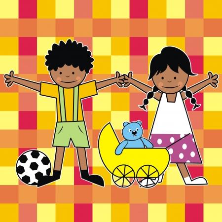 tessera: African kids