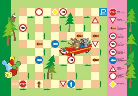 bebe a bordo: juego - señal de tráfico Vectores