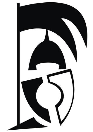 knight symbol Illustration