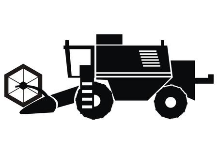cosechadora: cosechador