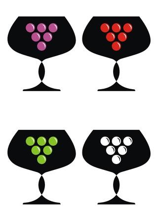 goblet: wine - goblet