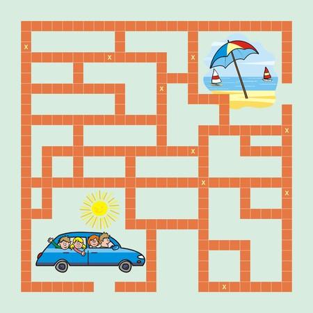 game-car illustration  Vector