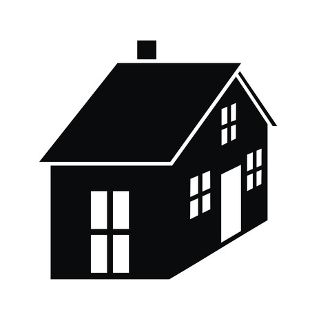 house-black illustration  Vector