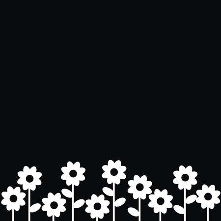 flowers - background Vector