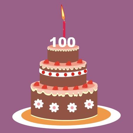 ケーキ - 100 年
