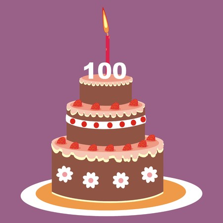 cake - 100 years