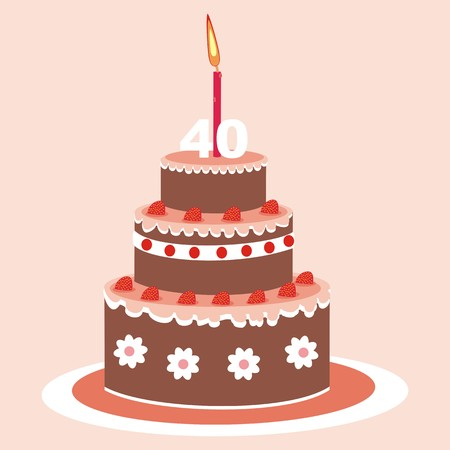 junket: cake - 40 years