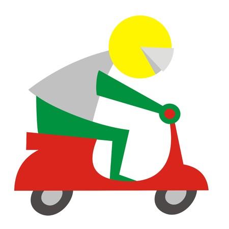 biker - symbol
