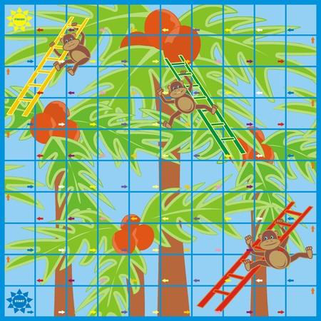 delectation: game - monkey