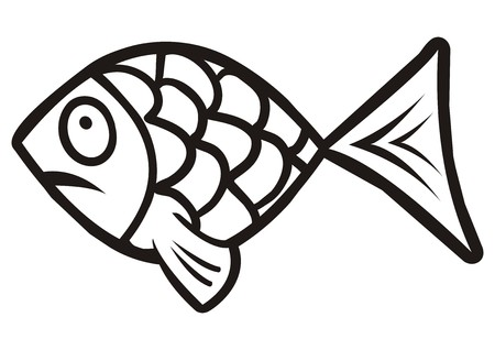 fish, fun Vector