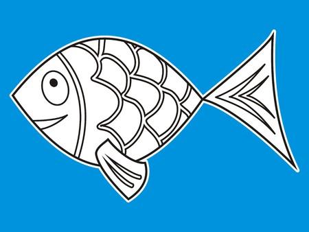 scalar: carp Illustration