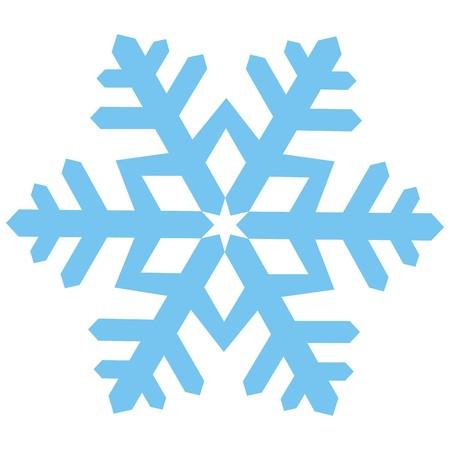 copo de nieve: copo de nieve Vectores