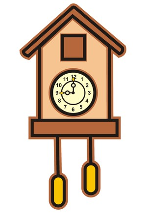 cuckoo clock: clock