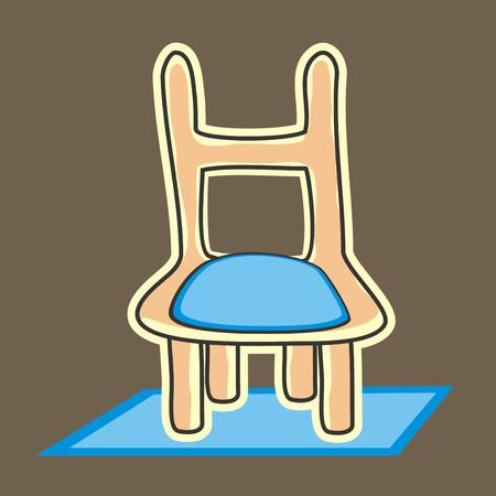 ligneous: chair Illustration