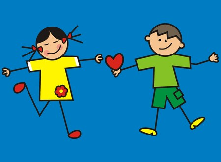 kids and heart