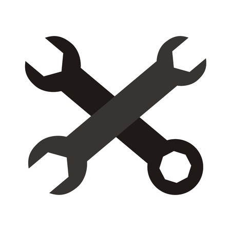 tool,spanner Vector