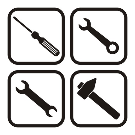 tool, buttons Vector