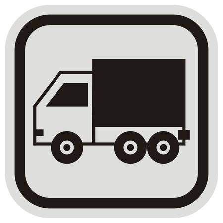 cartage: pickup, frame Illustration