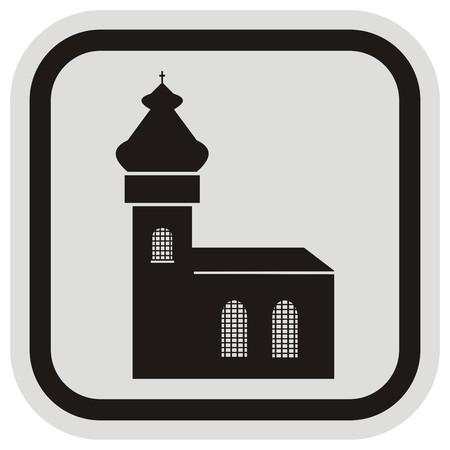 edifice: church, frame