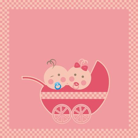 pram: pram and baby