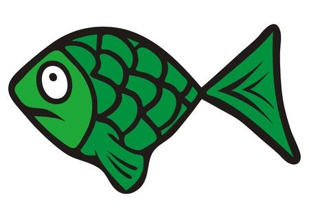 scalar: green fish