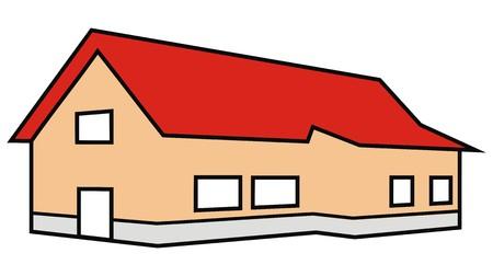 habitation: house, color