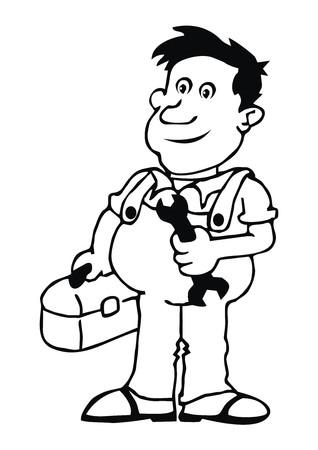industrialist: plumber