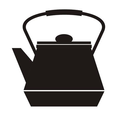 tearoom: teapot Illustration