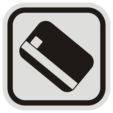 remittance: credit card, frame