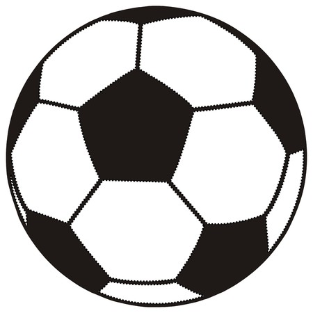 stitching: soccer ball, stitching Illustration