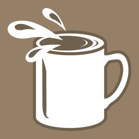 household goods: cup Illustration