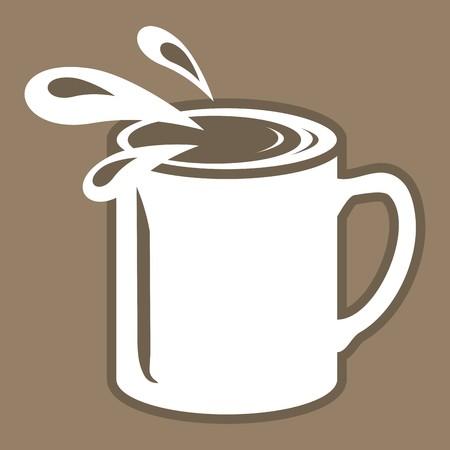 coppa: tazza Vettoriali