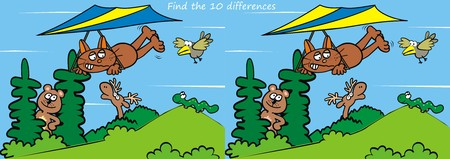 game, find the differences