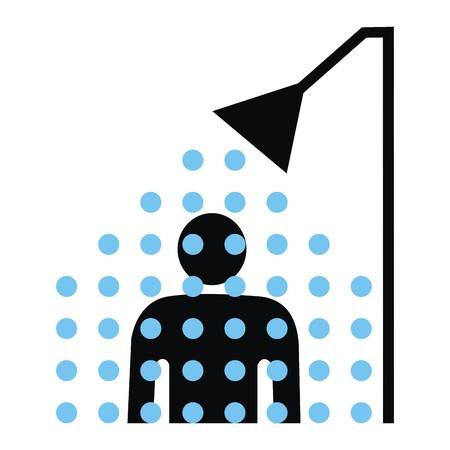 showering: shower