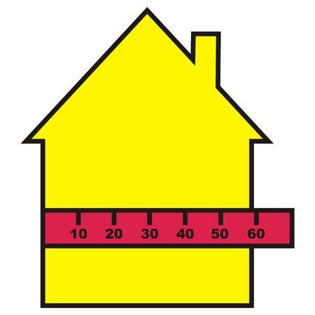 profile measurement: house to measure