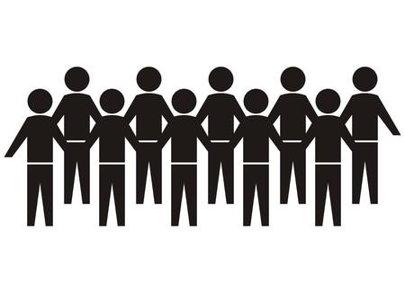 人々 の群衆