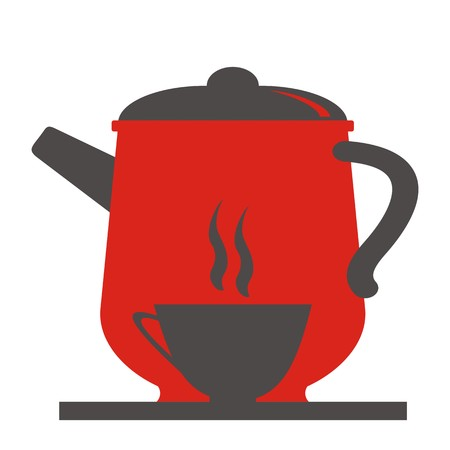 teapot and cup Illustration