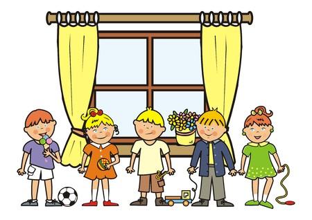 romp: window and Children