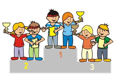 Winning Team Illustration