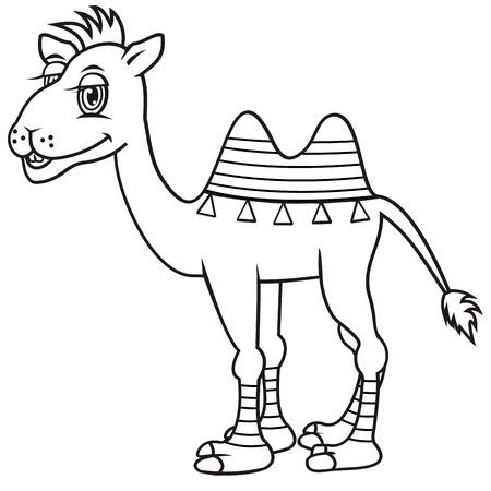 camel, coloring book