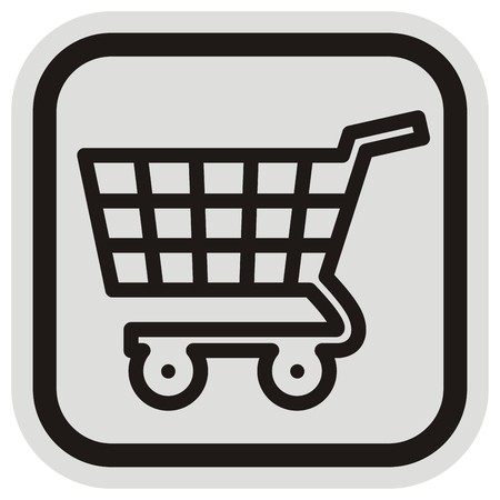 simple frame: shopping cart Illustration