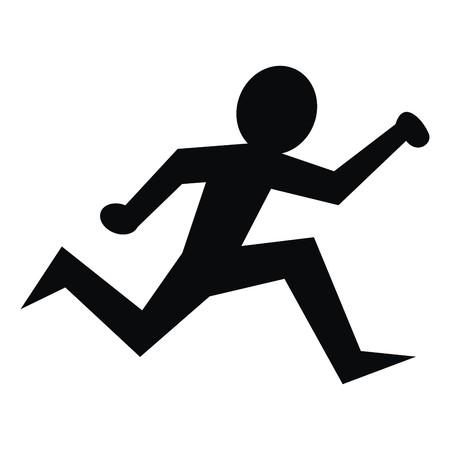 pers: running figure