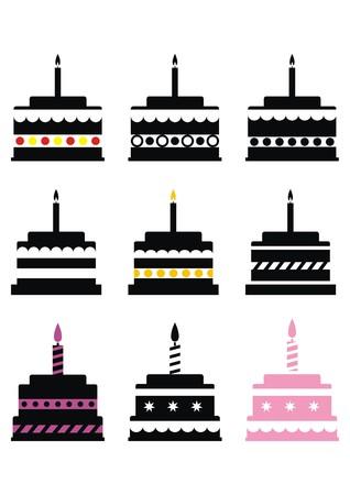 permutations: cake, set