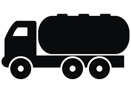 camion: lorry cisterns Illustration