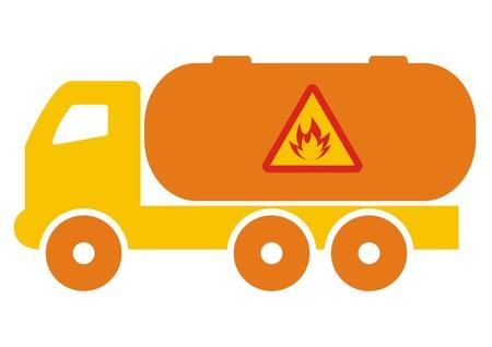 dangerous: truck, dangerous cargo